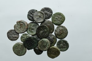 Lot of 20 ancient coins