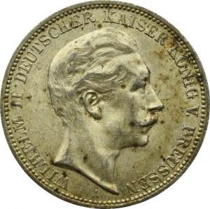Niemcy, Prusy, 3 marki 1912