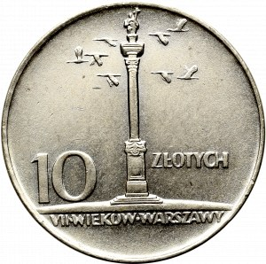 Peoples Republic of Poland, 10 zloty 1966
