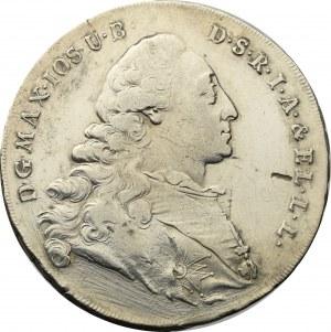 Germany, Bavaria, Maximilian Joseph, 1/2 thaler 1775