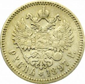 Russia, Nicholas II, Rouble 1897