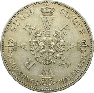 Germany, Preussen, Thaler 1861