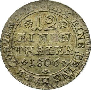 Germany, 1/12 thaler 1806