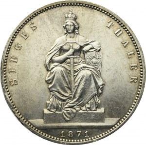Germany, Preussen, Thaler 1871