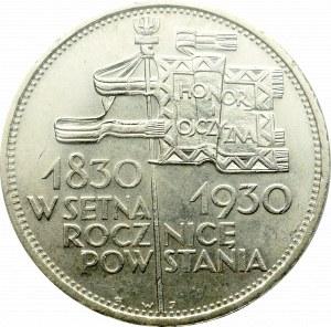 II Republic of Poland, 5 zloty 1930 November Uprising - PCGS MS64+