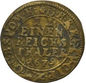 Germany, Brandenburg-Preussen, Friedrich Wilhelm, 1/12 taler 1679