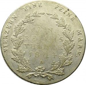 Germany, Preussen, Thaler 1814 A