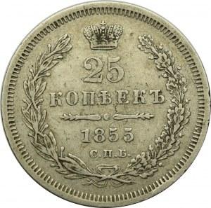 Russia, Nicholas I, 25 kopecks 1855