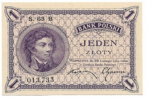 II Republic of Poland, 1 zloty 1919