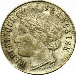 Francja, Żeton 1 frank 1906