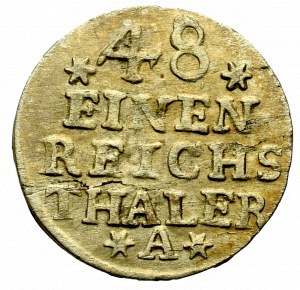 Germany, Preussen, 1/48 thaler 1756