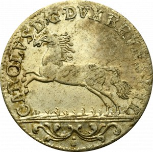 Niemcy, Brunszwik-Luneburg, 1/6 talara 1753