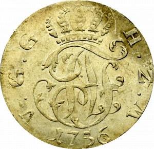 Niemcy, Meklemburgia-Strelitz, 1/6 talara 1756