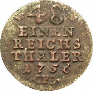 Germany, Preussen, 1/48 thaler 1756 E
