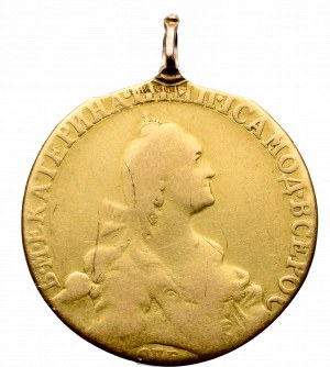 Russia, Catherine II, 10 rouble 1769
