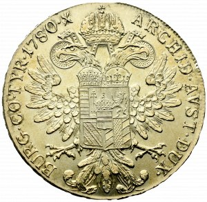 Austro-Hungary, Marie Theresia, Thaler 1780 restrike