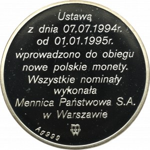 III RP, Medal Nowa Moneta Polska