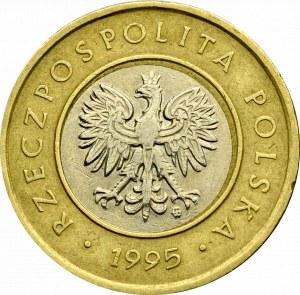III RP, 2 złote 1995 - destrukt