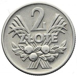 PRL, 2 złote 1958 Jagody
