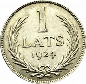 Łotwa, 1 łat 1924