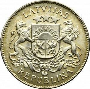 Łotwa, 2 łaty 1925