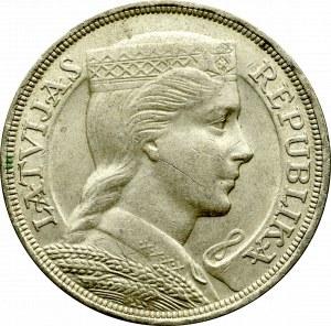 Łotwa, 5 łatów 1931