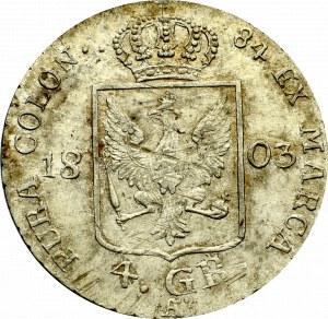 Niemcy, Prusy, 4 grosze 1804