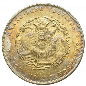 Chiny, Kwang Tung, Dolar bez daty (1890-1908)