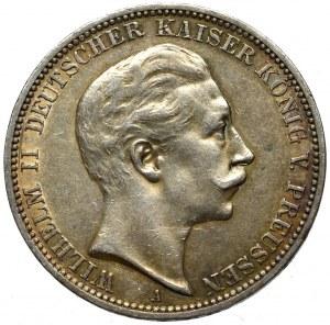 Germany, Preussen, 3 mark 1910