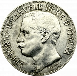 Włochy, 5 lirów 1911