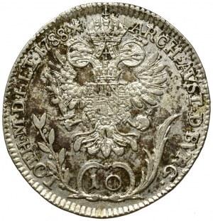 Austro-Węgry, 10 krajcarów 1788