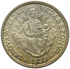 Węgry, 2 pengo 1939