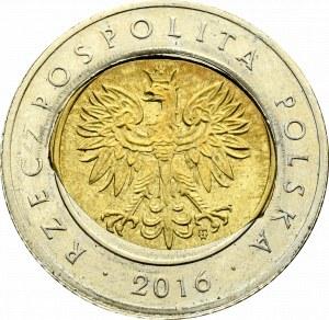 III RP, 5 złotych 2016