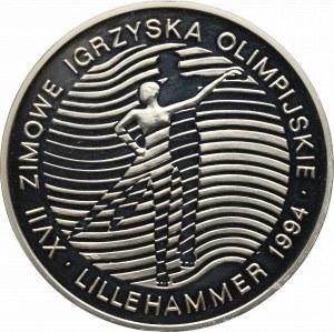 III RP, 300.000 złotych 1993 Lillehammer