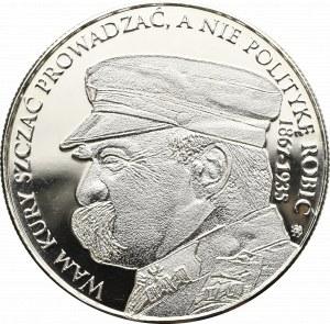 III RP, Medal Piłsudski - uncja srebra