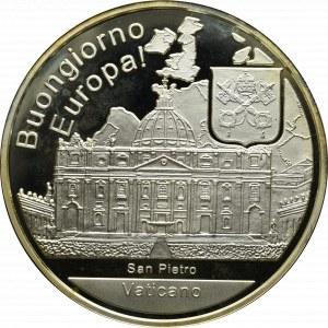 Watykan, Medal - uncja srebra