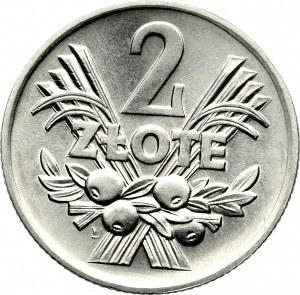PRL, 2 złote 1974 Jagody