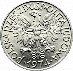 PRL, 5 złotych 1974 Rybak