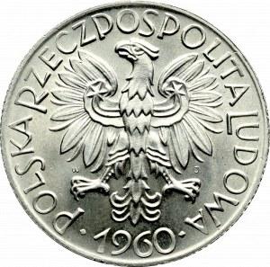 PRL, 5 złotych 1960 Rybak