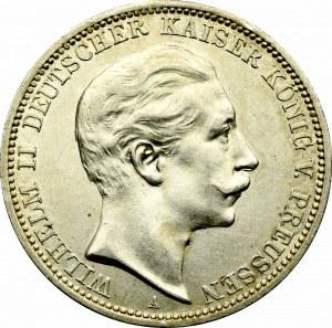 Niemcy, Prusy, 3 marki 1910
