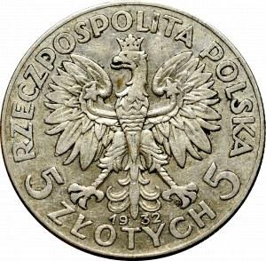 II Republic, 5 zlotych 1932, Warsaw