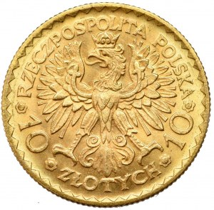 II Rzeczpospolita, 10 złotych 1925 Chrobry