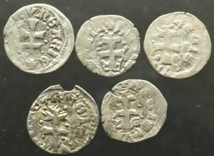Węgry, Ludwik I Węgierski, Denar bez daty (5 egz) -