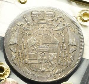 Austria, Arcybiskupstwo Salzburg, Talar 1801