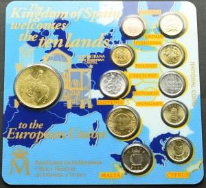 Hiszpania, Set monet dla nowych 10 państw Unii Europejskiej
