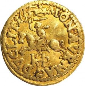 John II Casmir, Half ducat 1665, Vilnius