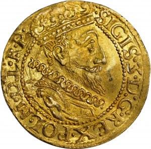 Zygmunt III Waza, Dukat 1612 - mała data, Gdańsk - Ex NGC MS62
