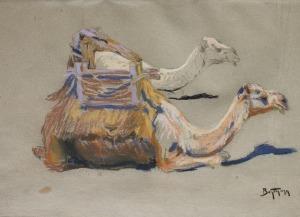 Abraham Behrman (1876-1942), Wielbłądy