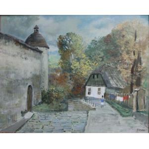 Tadeusz Roman (1906-1983), Przy klasztornym murze