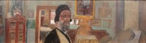 Jacek Malczewski (1854 Radom - 1929 Kraków), Autoportret we wnętrzu